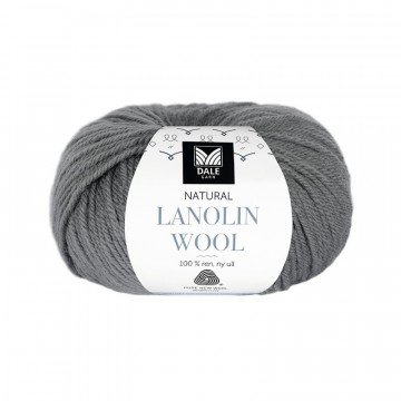 Natural Lanolin Wool 1403 Mørk grå