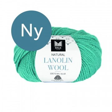 Natural Lanolin Wool 1442 Klar turkis