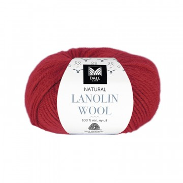 Natural Lanolin Wool 1407 Klarrød