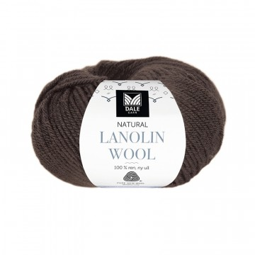 Natural Lanolin Wool 1406 Espresso