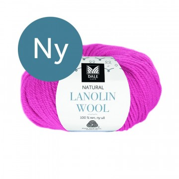Natural Lanolin Wool 1440 Pink