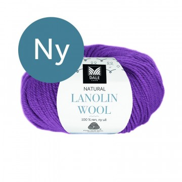 Natural Lanolin Wool 1441 Lilla