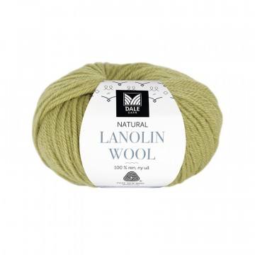 Natural Lanolin Wool 1418 Vårgrønn