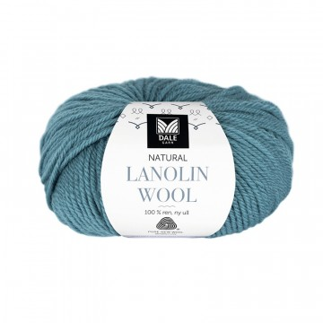 Natural Lanolin Wool 1416 Petrol